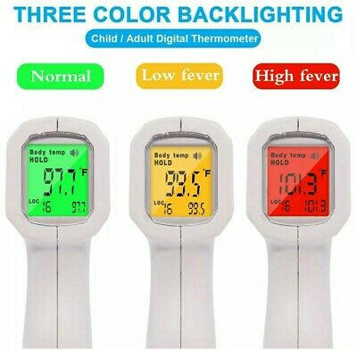 Digital Lcd Infrared Thermometer Non-contact Baby Adult Temperature Gun.