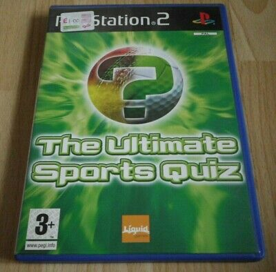 The Ultimate Sports Quiz...Playstation 2 Game for sale  Shipping to Nigeria