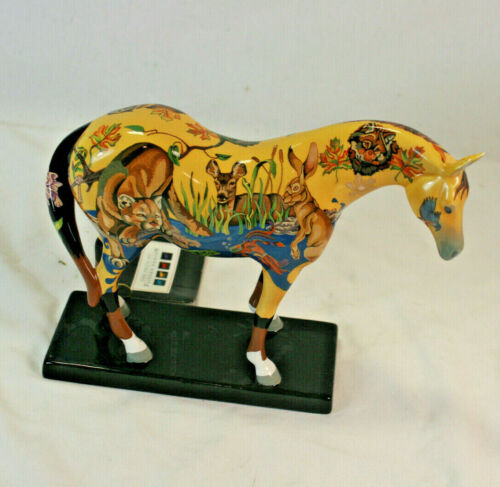 2004 The Trail of Painted Ponies No. 1588 Wilderness Roundup Figurine 2E / 1786