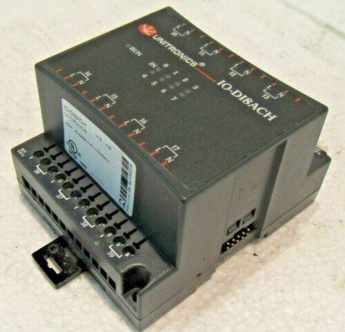 Unitronics IO-DI8ACH Input/Output Module