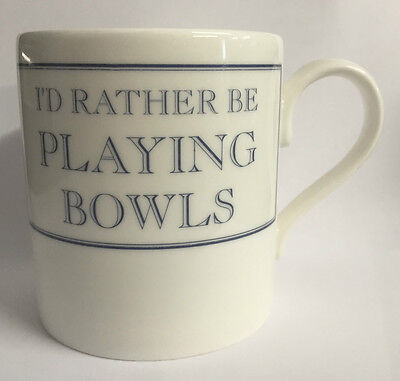 Fine Bone China Bowls Theme White Mug