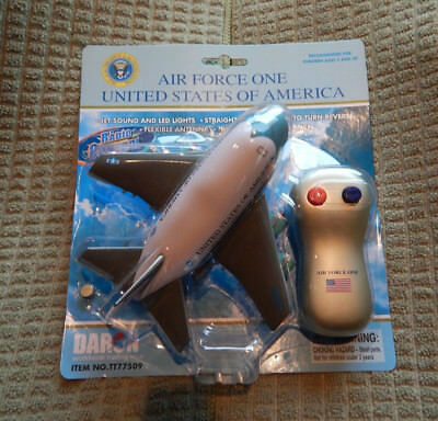 Daron AIR FORCE ONE REMOTE RADIO CONTROLLED PLANE-NEW-PLANE,REMOTE W/ BATTERY