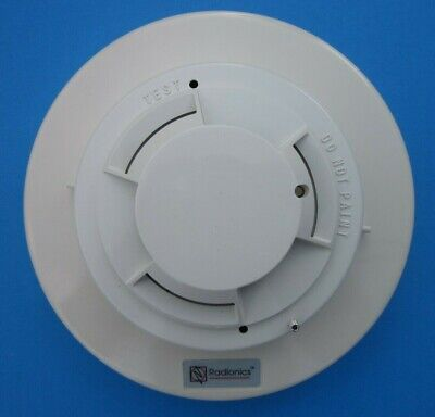 Radionics D282 Photoelectric Smoke Detector With D291s Base