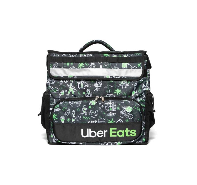 Uber Eats Deliver Backpack Limited Edition Artist Series Sophia