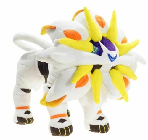 "New 30cm 12"" Solgaleo Plush Animation Toy Soft Doll Stuffed Plush Doll Gift"