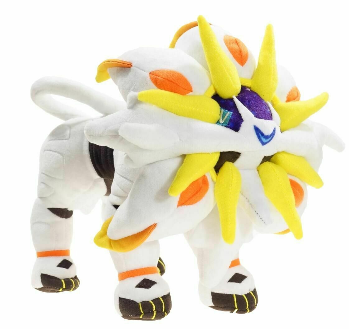 "как выглядит New 30cm 12"" Solgaleo Plush Animation Toy Soft Doll Stuffed Plush Doll Gift фото"