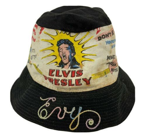 Elvis Presley Vintage 1956 Bucket Crew Magnet Hat Co