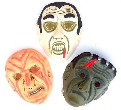 sken Ben Cooper Style 80er 90 Freddy Frankestein Dracula (Vintage Halloween-masken)