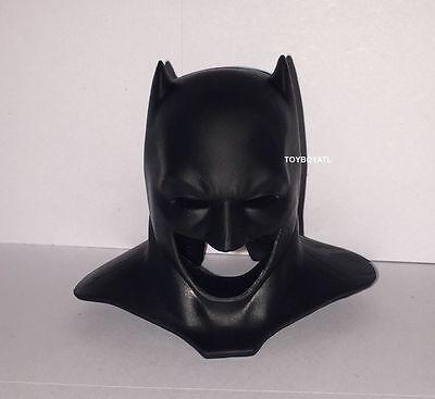Barbie Batman V Superman Ken Doll Outfit Black Rubber Bat Mask Cowl NEW Costume](Ken Barbie Costume)