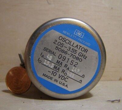 Hp Oscillator Model5086-7080. 2.05-3.55ghz.
