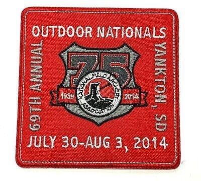 2010 INDOOR NATIONALS NFAA Archery Patch Louisville KY Indoor Field Vintage