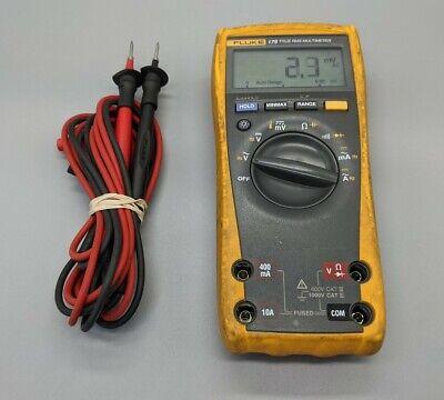 Fluke 179 True Rms Digital Multimeter W Leads - Good Cond. - Tested Cleaned