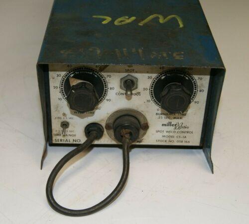 Miller Matic Model CS-1A Spot Weld Control Box