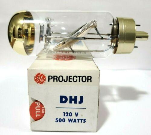 1 Vintage OEM NOS GE DHJ  120V 500W 10 Hours  Projector Lamp Bulb Eastman Kodak