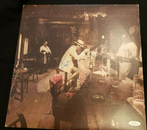 """LED ZEPPELIN """"IN THROUGH THE OUT DOOR"""" SIGNED ALBUM BY JOHN BONHAM, PAGE, PLANT"""