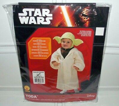 Rubie's Star Wars YODA Toddler Baby Infant Child Halloween Costume 24 Months - Baby Yoda Halloween Costume