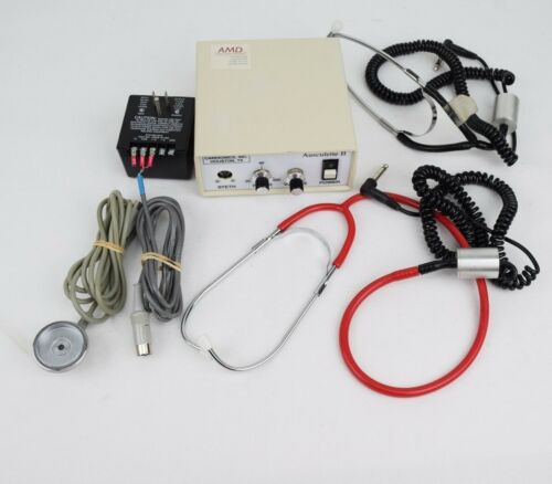 Cardionics Ausculette II Electronic Stethoscope 718-0100
