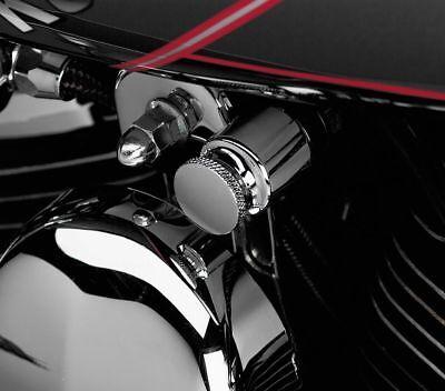 Harley Davidson Sportster Softail Dyna Electra Glide CHROME CHOKE KNOB COVER
