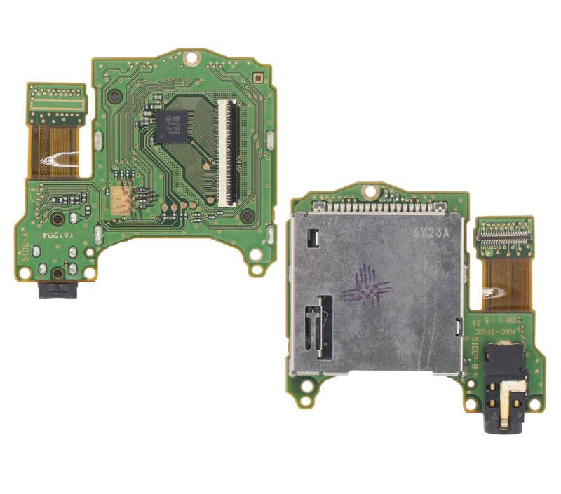 Original Game Cartridge Card Slot Reader Headphone Jack Port for Nintendo Switch
