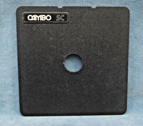 CAMBO SC LENS BOARD WITH 27MM HOLE (PK)