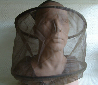 Originales Moskitonetz, Insektennetz, Mückenschutz NATO. Armee. Uni. Größe. Neu.