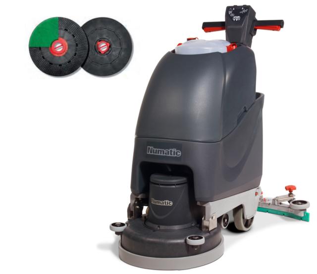 Numatic TT4045G Kabel Scheuersaugmaschine Reinigungsmaschine mit Treibteller