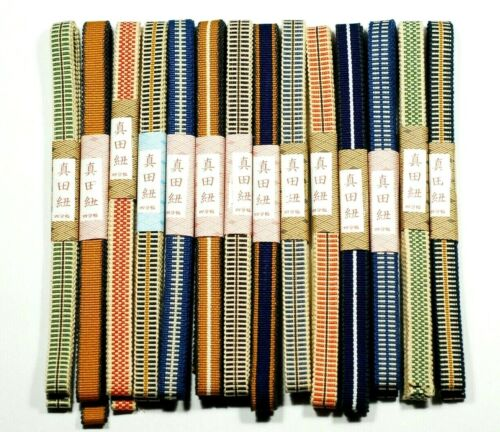 Sanada-himo x 14 Japanese Traditional Cotton String Wrapping for Paulownia Box