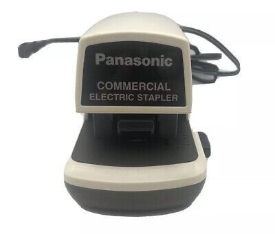 Panasonic Commercial Electric Stapler Desk Top Automatic Standard Staple As-300n
