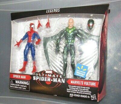 "Marvel Legends 6"" figure Spiderman Vulture 2 pack Walmart exclusive NEW"