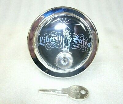 Sg Safe Lock Replacement Dial Wliberty-statue Logo-w1 Key-silver-dial Only
