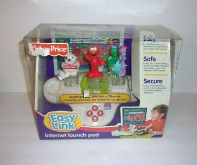 Fisher Price Easy Link Internet Launch Pad Elmo Sesame Street New 2007 Ages 3+