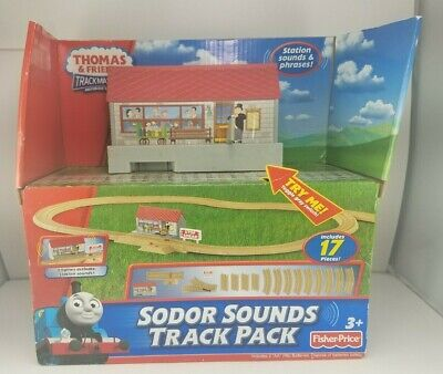 NEW Thomas & Friends Trackmaster Sodor Sounds Track Pack 17 Pieces Fisher Price