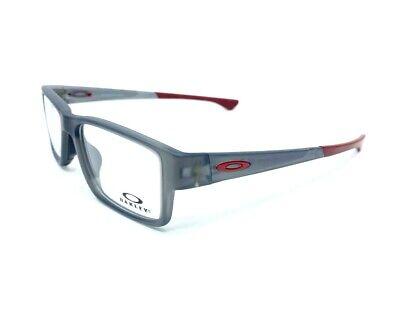 Oakley AIRDROP MNP OX8121-0355 Satin Grey Smoke RX Eyeglasses 55[]17 139mm