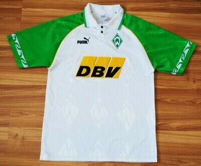 1995-1996 SV WERDER BREMEN SOCCER FOOTBALL JERSEY SHIRT TRIKOT HOME DBV PUMA S image