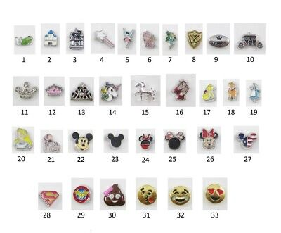 Floating Charm CHARACTER CARTOON FAIRY TALE for Glass Locket