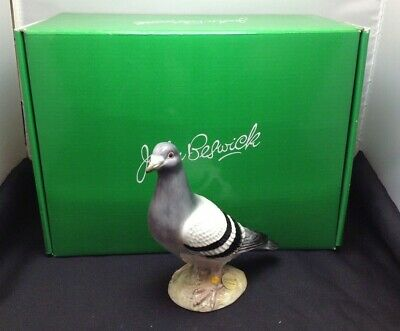 Very Rare Short Run Beswick Pigeon Ceramic Figurine Model JBB9 Boxed SU1161