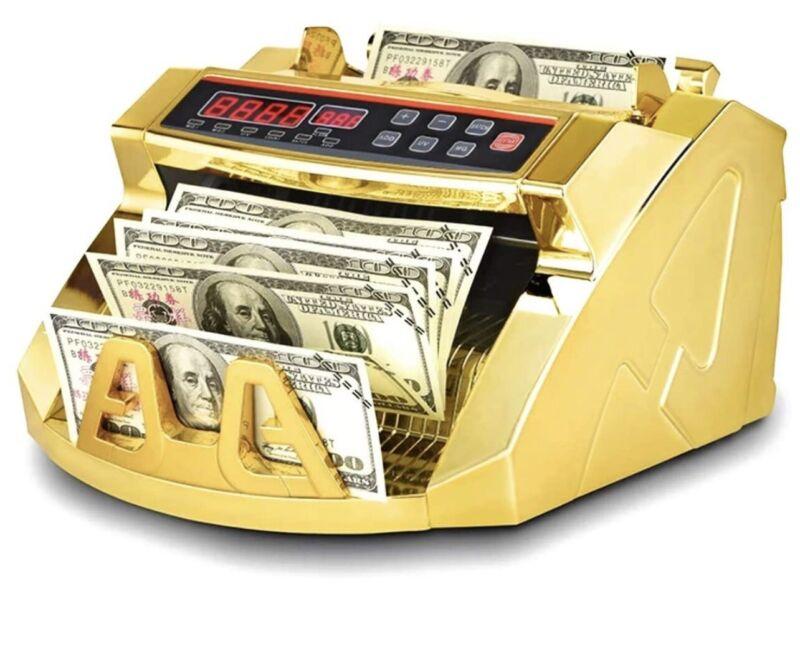 Gold Money Counter ✅  Brand New Multi-Currency ✅  *NOT BEN BALLER COUNTER*