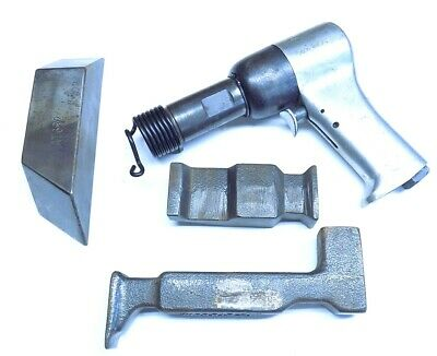 Surplus Us Industrial 3x Rivet Gun With 3 Bucking Bars Aircraft Tool