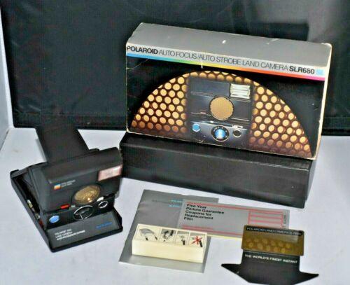 Vintage Polaroid SLR680 Land Camera