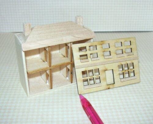 Miniature 1:144 Scale Wood Dollhouse for the DOLLHOUSE, RECTANGULAR Windows