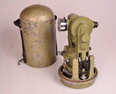 Excellent Wild T1a Theodolite Heerbrugg Switzerland Sn 117657