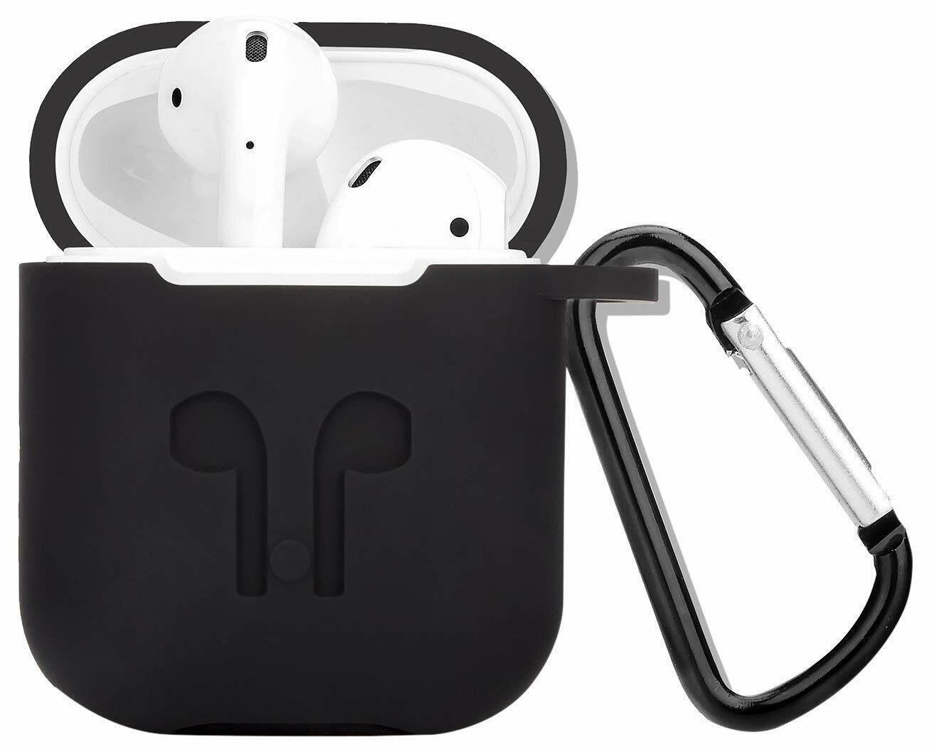 AirPods Silicone Case Cover Protective Skin for Apple Airpod Charging Case US Cases, Covers & Skins
