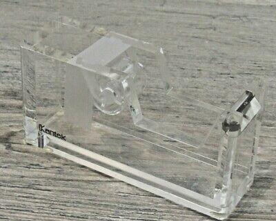 Kantek Tape Dispenser Clear Acryliclucite Slim Styling For Drawer Or Desktop