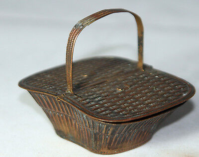 ANTIQUE c1880's;W. Avery & Son Redditch~~PICNIC BASKET Victorian NEEDLE CASE~~