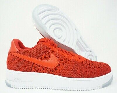 san francisco 9151f 6306f Nike Air Force 1 AF1 Ultra Flyknit Low University Red White Size 10