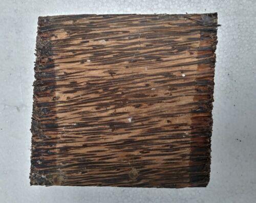 "BLACK PALM TURNING WOOD BOWL BLANK LATHE(4""X4""X2"") 1 PIECE -FREE SHIPPING"