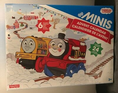 Thomas & Friends Minis Advent Calendar w Exclusive Minis Fisher Price Christmas