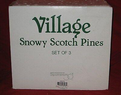 Department 56 Snow Village North Pole Series # 52615-Set of Three-NIB