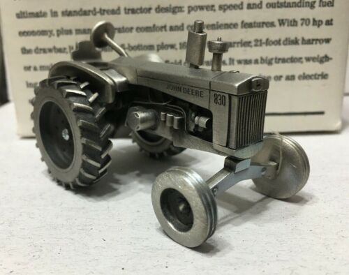 The John Deere 830  Tractor (1958-1961)- Fine Pewter - NEW