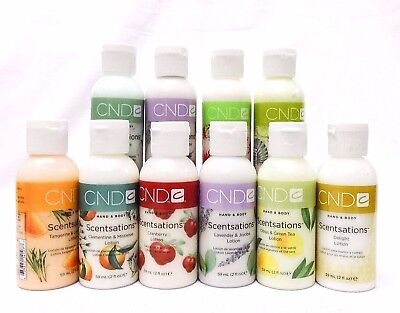 CND Creative Nail Scentsations Hand Body Lotion Travel Size 2oz/59ml Your Choice